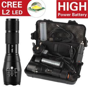 Puissante Lampe Torche 3 Lumière Puissant /& DEL longue durée d/'utilisation 2D Batteries de 1.99 $ seulement