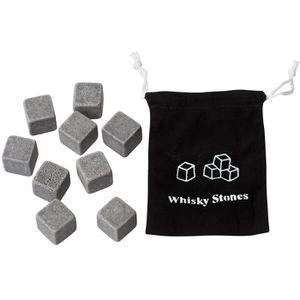 WHISKY BOURBON SCOTCH 9 Pierres A Whisky / Glaçons - Gris