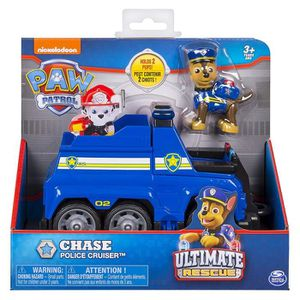 FIGURINE - PERSONNAGE Véhicule + Figurine Ultimate Rescue - Chase Police