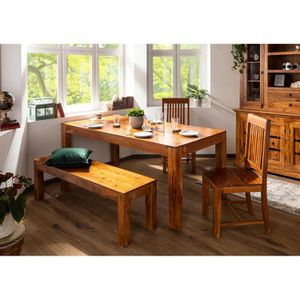 TABLE À MANGER SEULE Table à manger rectangulaire 140x90 cm, 4 à 6 Pers