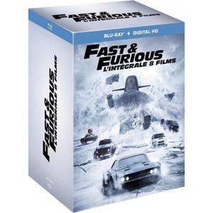 BLU-RAY FILM Fast and Furious - L'intégrale 1 à 8 films [Blu-ra