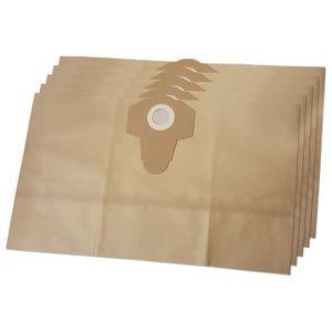 Sacs pour Aspirateur Filtre-sacs 12 sacs poussière pour Parkside PNTS 1400 a 1 20 ltr