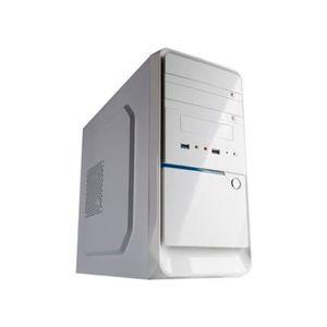 BOITIER PC  Hiditec Micro ATX Box Q3 Edition blanche -  -