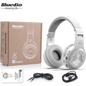 CASQUE - ÉCOUTEURS Casque Bluetooth Bluedio H+ (Turbine) Microphone i