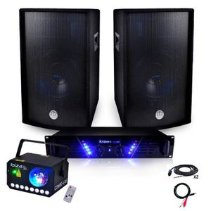 PACK SONO Pack Sono Ampli 480W + 2x600W + COMBILAS + Câblage