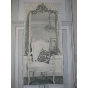 toile panneau trompe l il le miroir mathilde m achat. Black Bedroom Furniture Sets. Home Design Ideas