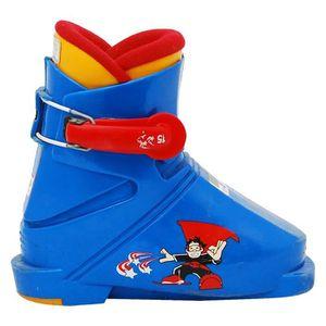CHAUSSURES DE SKI Chaussure ski Junior Salomon superman bleu
