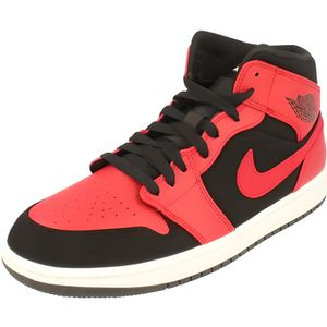 buy popular dfd43 f87e5 BASKET Nike Air Jordan 1 Mid Hommes Hi Top Trainers 55472