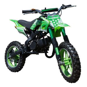 MOTO FREEGUN Pocket cross  Dirt bike  - 50 cc - Vert