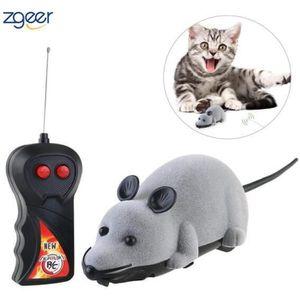 JOUET Télécommande souris chat jouet Simulaton peluche s