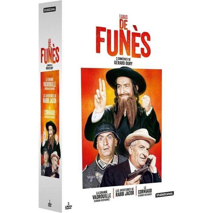 DVD FILM DVD Coffret Collection Louis de Funès - La grande