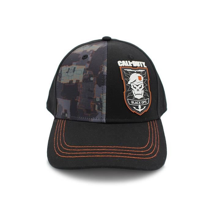 Casquette Call of Duty Black Ops 4 Camo Curved Bill