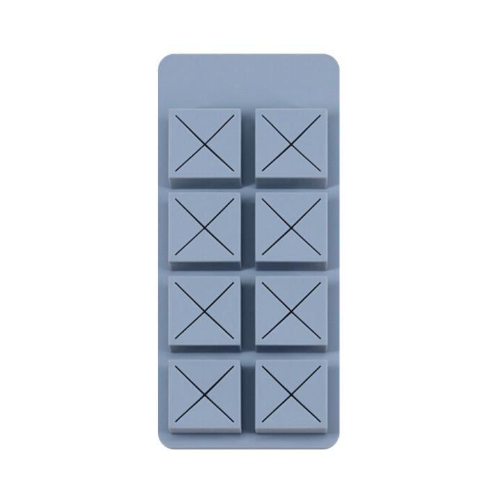 Boîte de rangement de grande capacité Boîte de rangement de grande capacité de rouge à lèvres au chocolat créatif Simple 8 stockage