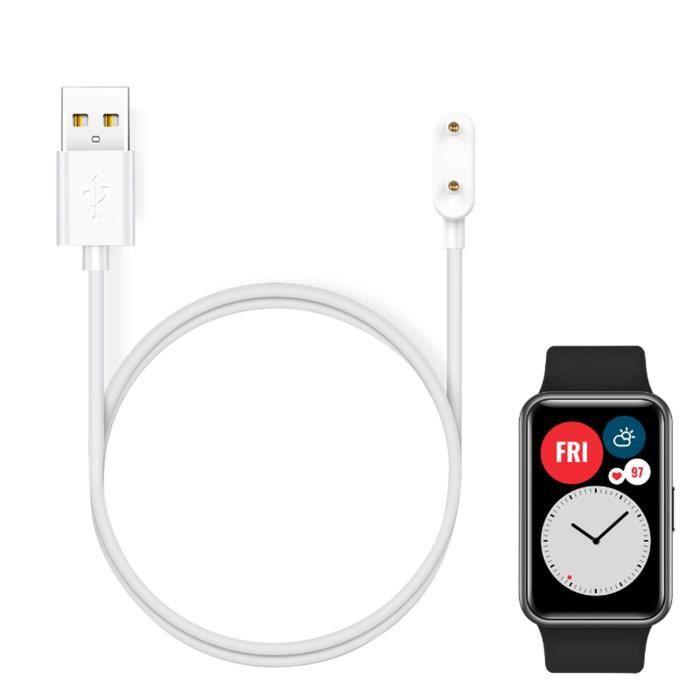 MONTRE OUTDOOR Pour Huawei Watch Fit Chargeur Adaptateur magnétique Câble de charge USB Câble de base bg870