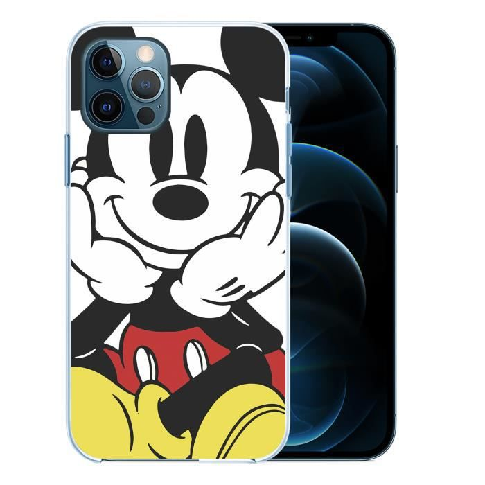 Coque pour iPhone 12 PRO MAX - Mickey Mouse. Accessoire telephone