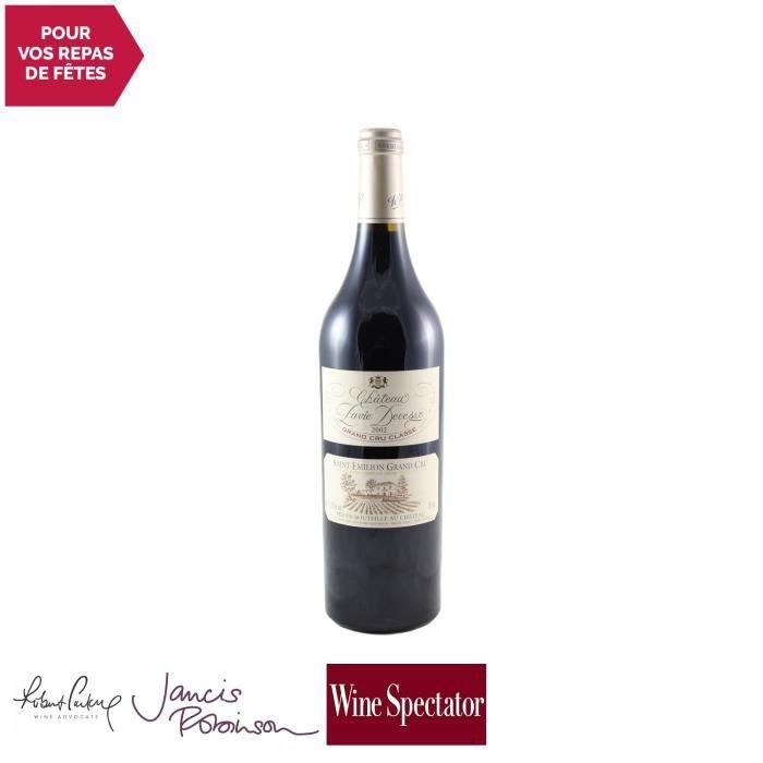 Château Pavie Decesse Rouge 2002 - 75cl - Appellation AOC Saint-Emilion Grand Cru - Vin Rouge de Bordeaux - 17-20 Jancis Robinson -