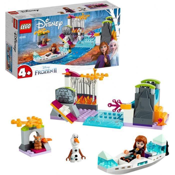Lego®-Disney Princess™ L'Expédition En Canoë D'Anna Personnages De La Reine Des Neiges 2 Fille Et Garçon 4 Ans Et Plus, 108 Pièces 4