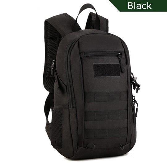Protecplus – sac à dos tactique militaire étanche de 12l, sac à dos d'escalade de randonnée pour hommes et femmes, [3E593B2]