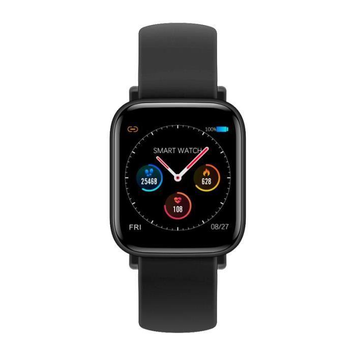 Montre intelligente Q10 Fitness montre santé sport montre étanche fréquence cardiaque OLED écran Bracelet Android i - Black - WL7272
