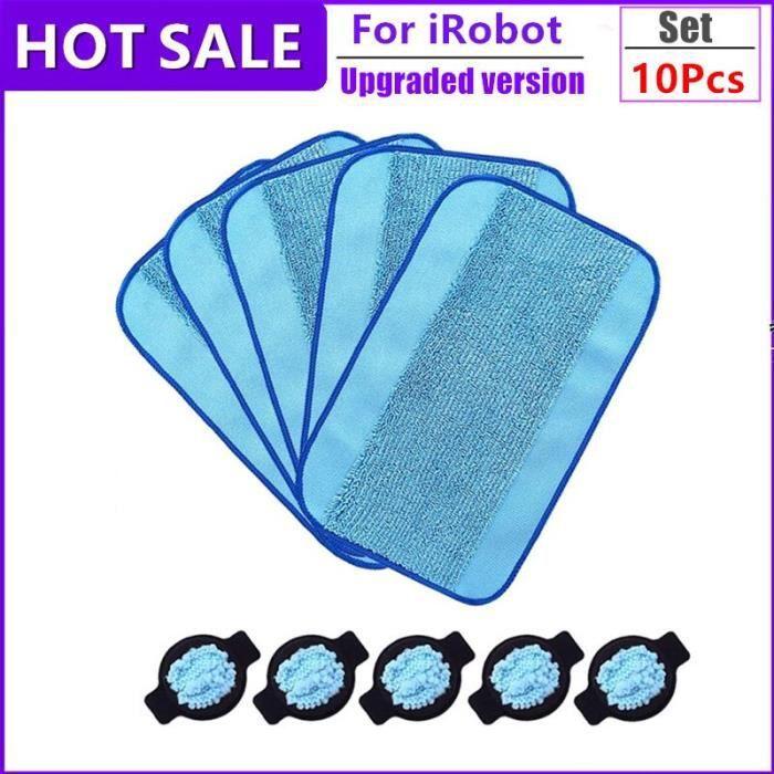 Kit de pièces de tampon réservoir de rechange iRobot Braava,320, 380, menthe, 4200, 5200, robot de nettoyage sous 10pcs -BH4047