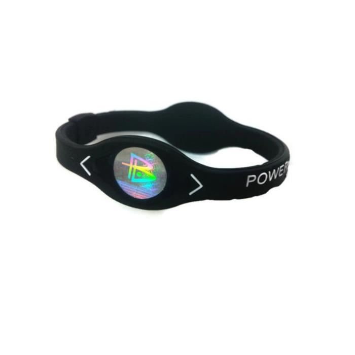 Power Energy Bracelet Sport Bracelets Balance Ion Magnetic Therapy Silicone 18