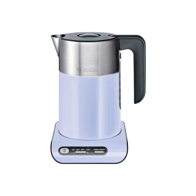 Bosch Styline TWK8619P Bouilloire 1.5 litres 2400 Watt french lilac- black gray