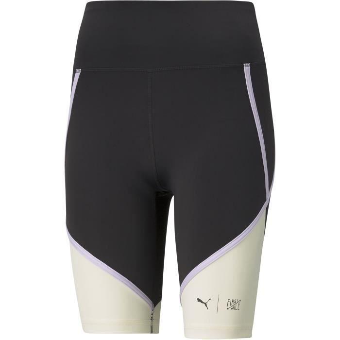 Short cycliste - PUMA - First Mile Biker - Blanc