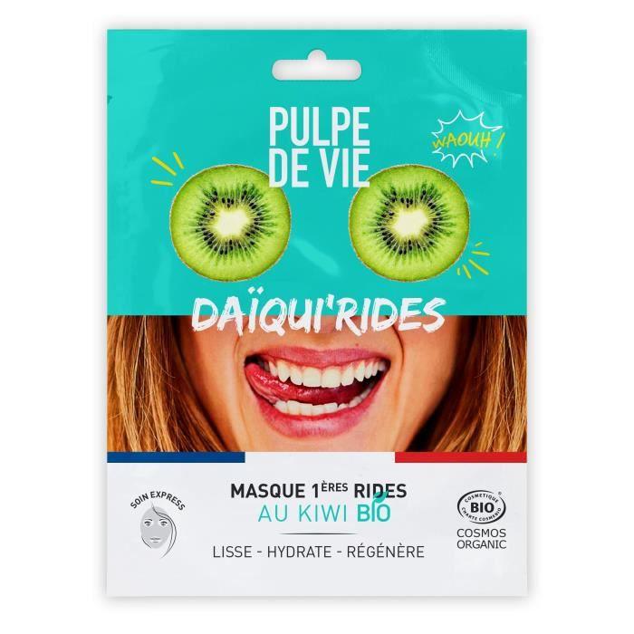 Pulpe de Vie DAQUI'RIDES Masque tissu visage BIO 20ML