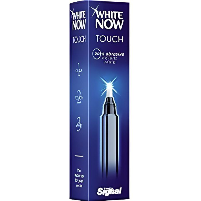 SIGNAL Stylo blanchiment des Dents White Now Touch