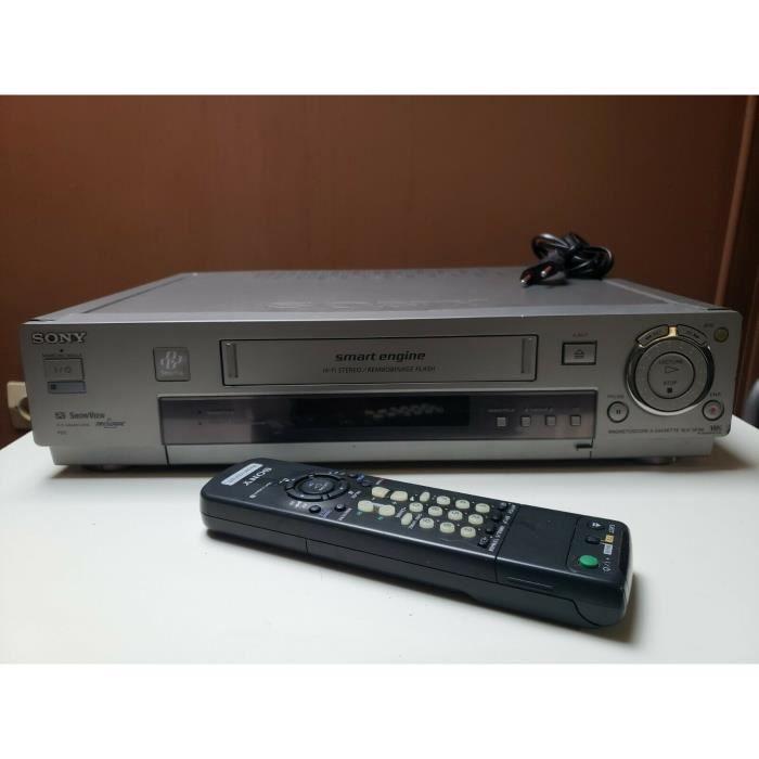 MAGNETOSCOPE SONY SLV-SF90 LECTEUR ENREGISTREUR K7 CASSETTE VIDEO VHS VCR + TEL