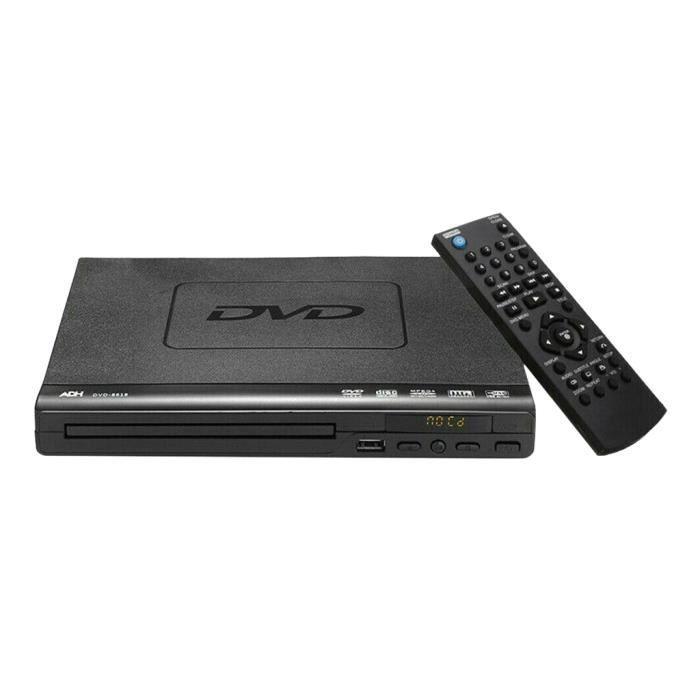 Lecteur DVD Multi Région ADH CD VCD Musique Upscaling USB Remote X1 1inch gazechimp