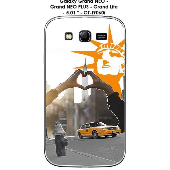 Coque Samsung Galaxy Grand PLUS - GT-I9060i - Gra