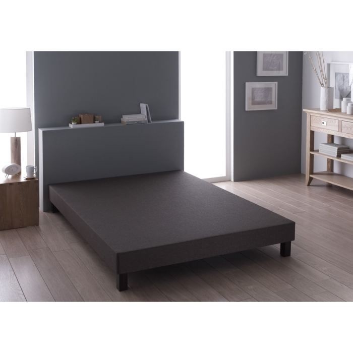 sommier relaxima choco 80x200 achat vente sommier. Black Bedroom Furniture Sets. Home Design Ideas