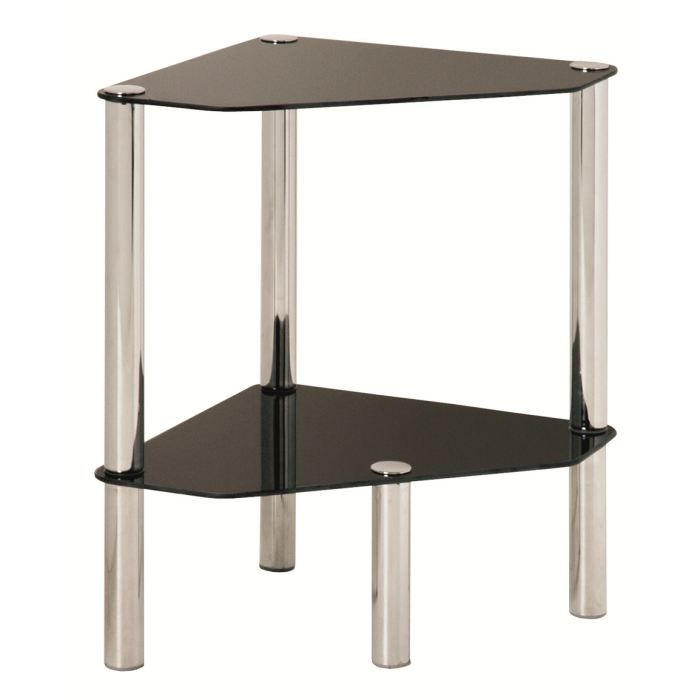 Table d'appoint en noyer Dimensions : L66 x H68 x P41 cm, Epoque Neuf