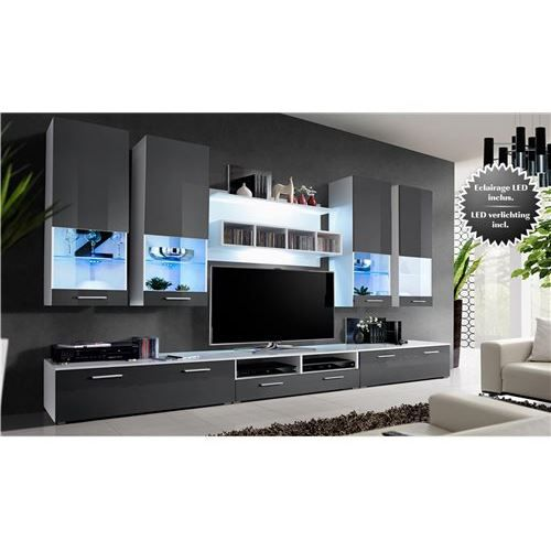 meuble tv murale design marco achat vente meuble tv meuble tv murale design marco panneaux. Black Bedroom Furniture Sets. Home Design Ideas