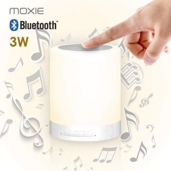 ENCEINTE NOMADE Enceinte Bluetooth Lumineuse 3W Moxie Sense Small