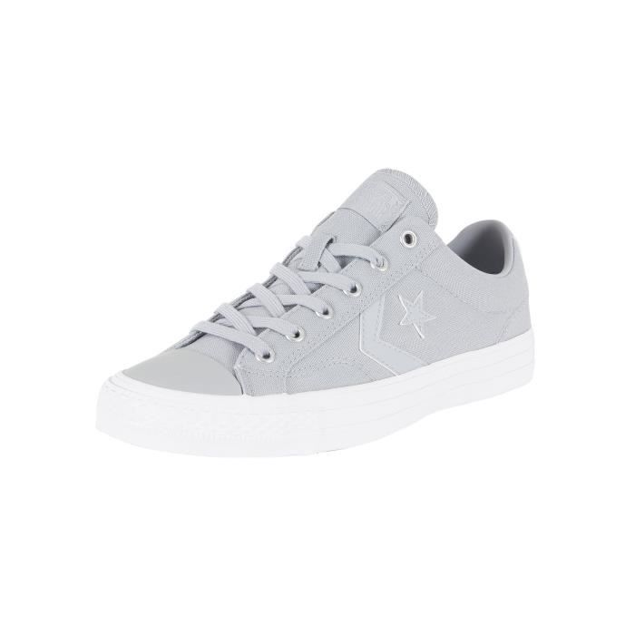 Converse Homme Star Player OX Formateurs, Gris