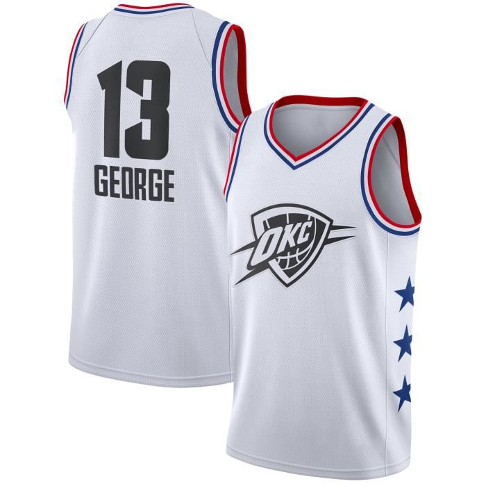 07172fcdb750c Maillot de Basket Ball Paul George 2019 All Star Homme Basketball Pas Cher