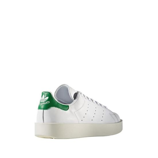 Basket adidas Originals Stan Smith Bold - Ref. S32266 Vert Blanc - Achat / Vente basket - Cdiscount