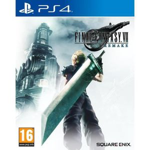 JEU PS4 Final Fantasy VII: Remake Jeu PS4