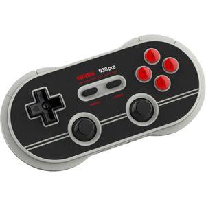 MANETTE JEUX VIDÉO Manette Gamepad bluetooth gris/noir 8Bitdo N30 Pro
