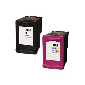 CARTOUCHE IMPRIMANTE 2 Compatible Encre Cartouche pour HP 302 XL Deskje