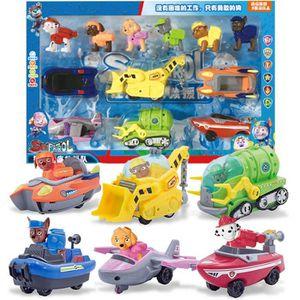 VOITURE À CONSTRUIRE Puppy Patrol Paw 6 pcs / set jouet de voiture de d