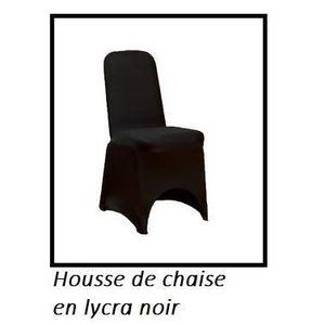 Polyester housses de chaise heavy duty en Noir Blanc /& Ivoire ronde ou carrée top.