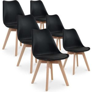 Chaises achat vente chaises pas cher cdiscount for 1 chaise scandinave