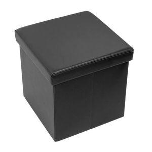 BOUT DE LIT ChangM Rangement Pliable Coffre Cube de Repose-Pie