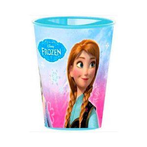 Disney Reine des neiges Fille Tasses en plastique fushia