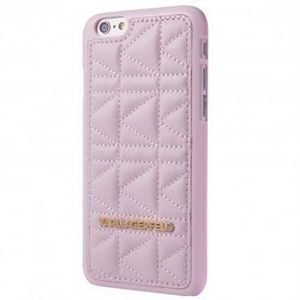coque iphone 5 5s se karl lagerfeld kuilted rose