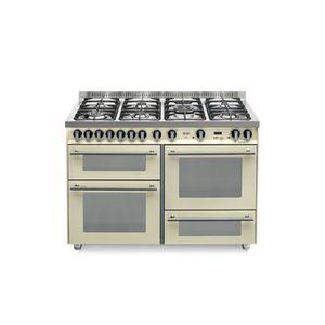 PLAQUE MIXTE LOFRA PBI126SMFE + MF-2Cl 120x60 Ivoire cuisinière