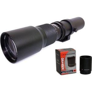 FILTRE PHOTO Téléobjectif 500-1000mm HD Manuel pour NIKON